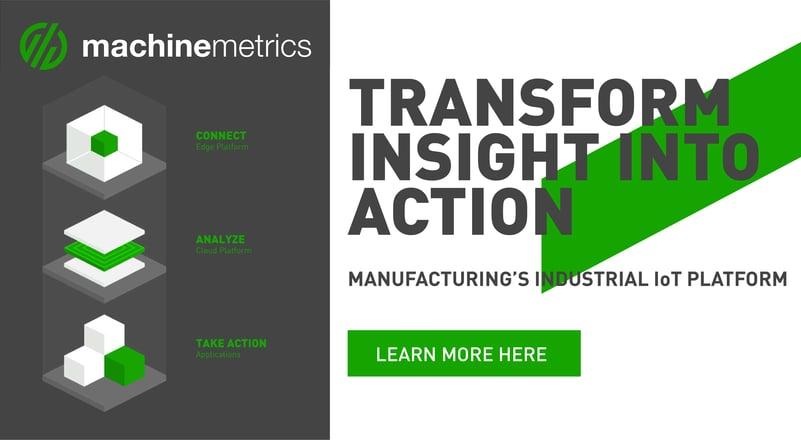 MachineMetrics Industrial IoT Platform
