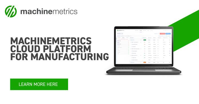 MachineMetrics Cloud Platform for Manufacturing