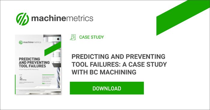 Predicting and Preventing Tool Failures Case Study.