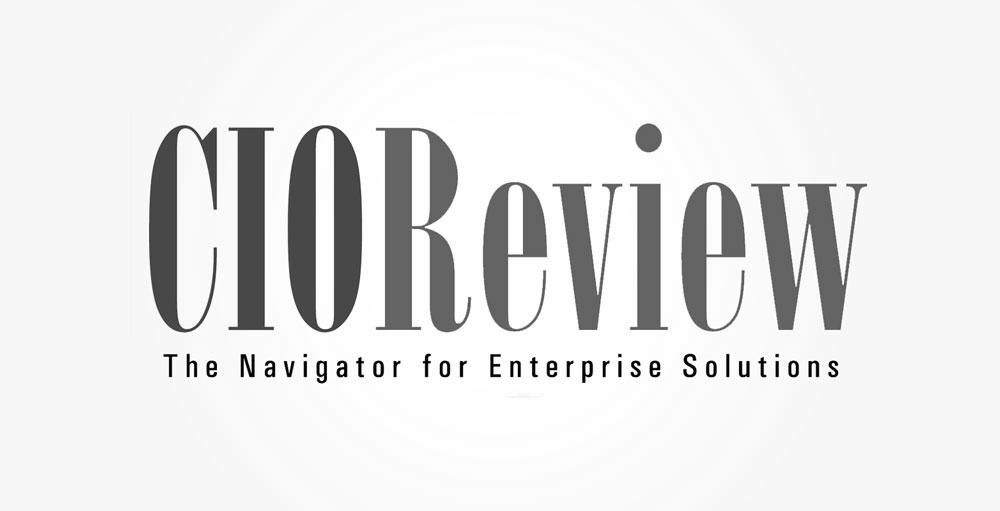 CIO review logo gray