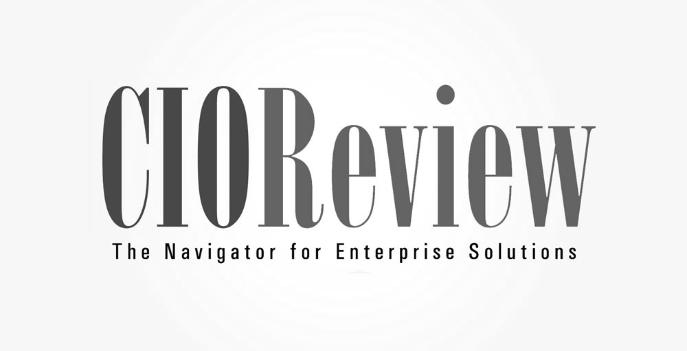 CIO review logo gray