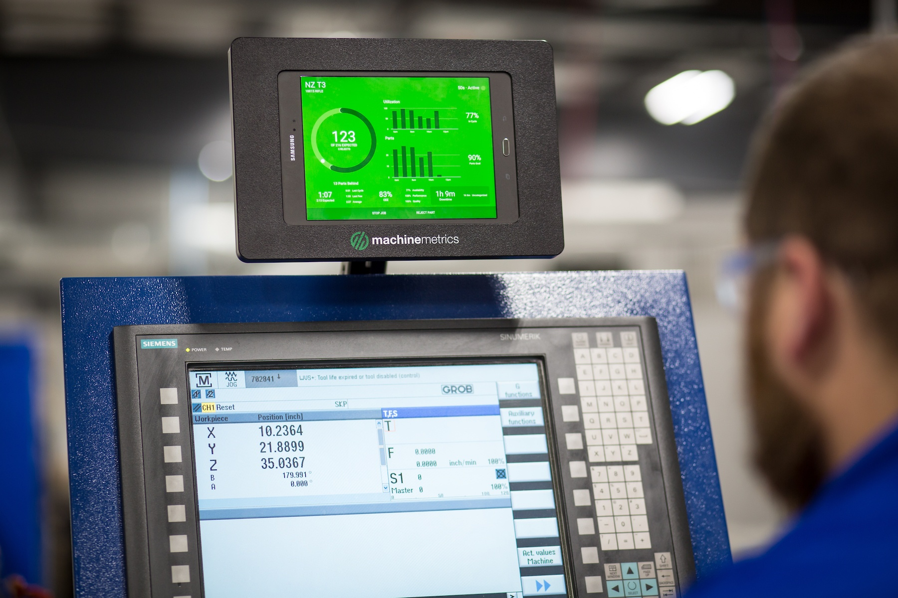 Real-time Factory Floor Dashboards