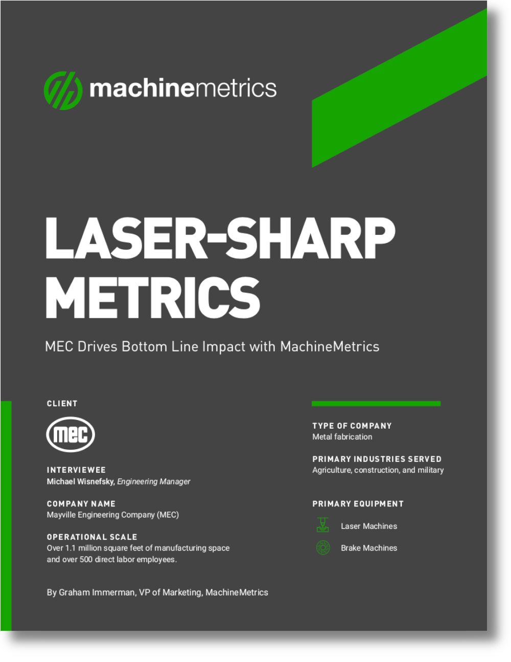 Laser-Sharp Metrics: MEC Drives Bottom Line Impact with MachineMetrics