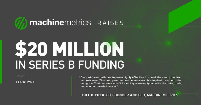 MachineMetrics $20 Million Series B Funding