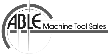 able machine tool sales logo gray