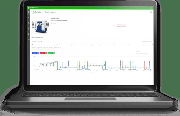 MachineMetrics Cycle Analyzer Dashboard