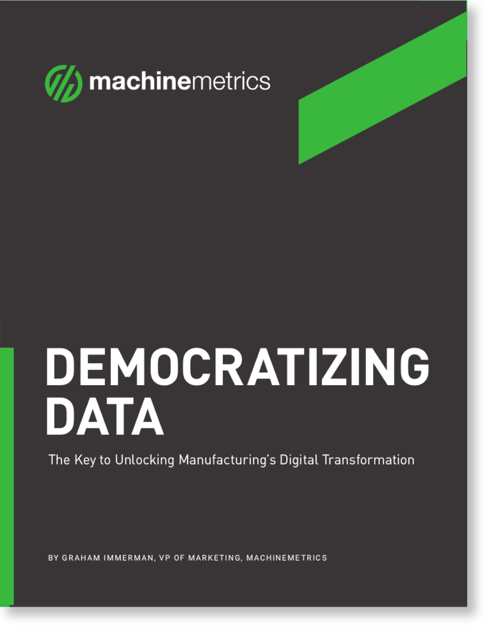 Democratizing Data eBook Cover