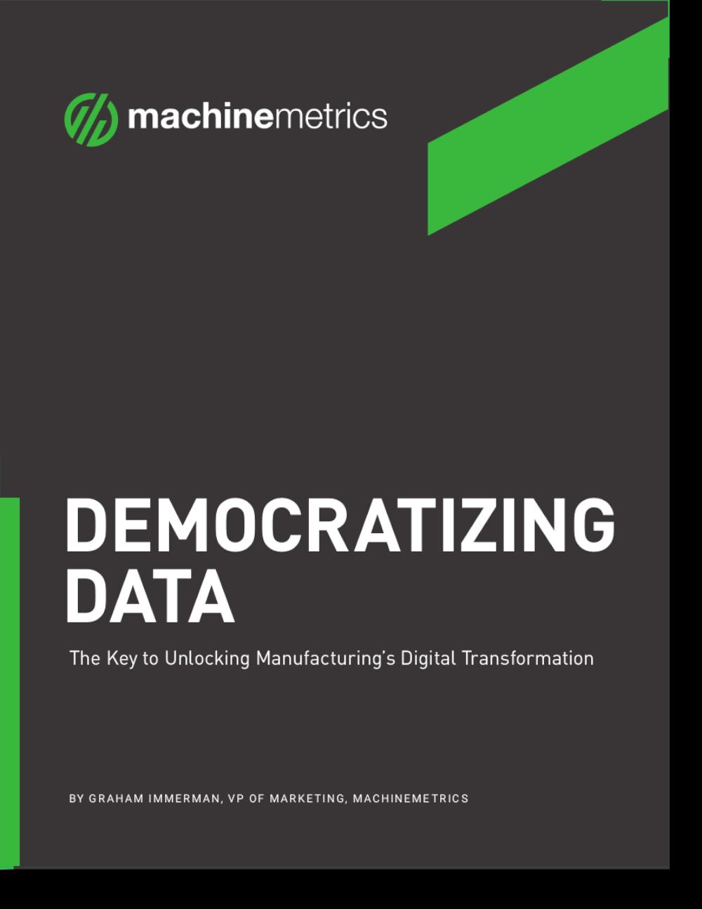 Democratizing Data eBook Cover