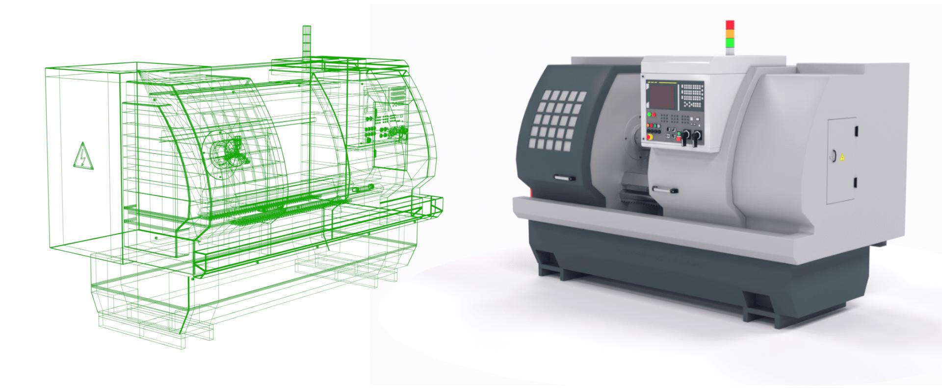 A Digital Twin of a CNC Machine