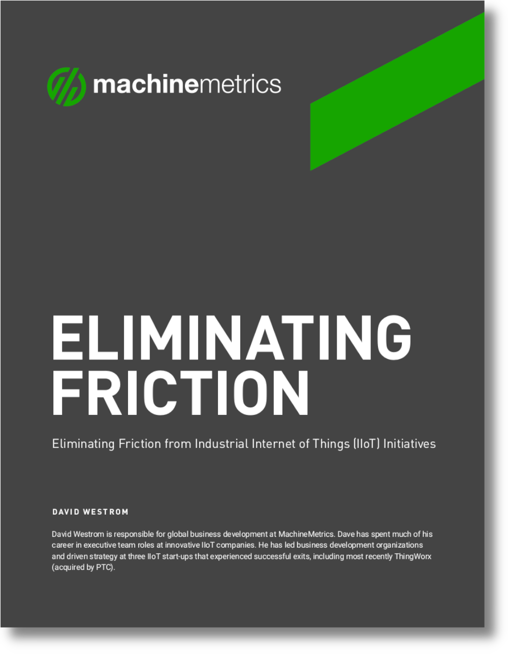 Eliminating Friction from Industrial IoT Initiatives Cover