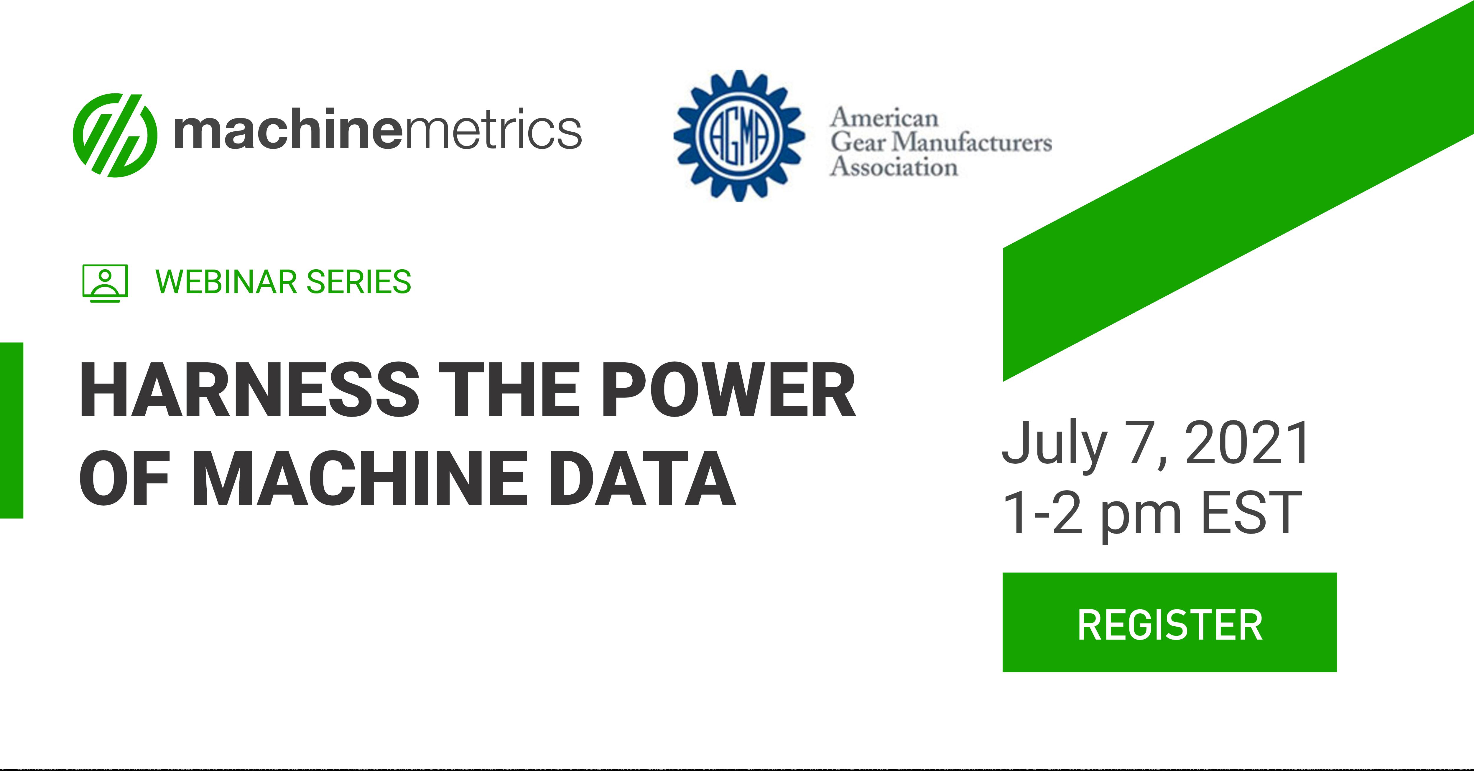 Harness the Power of Machine Data