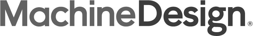 machine design logo gray