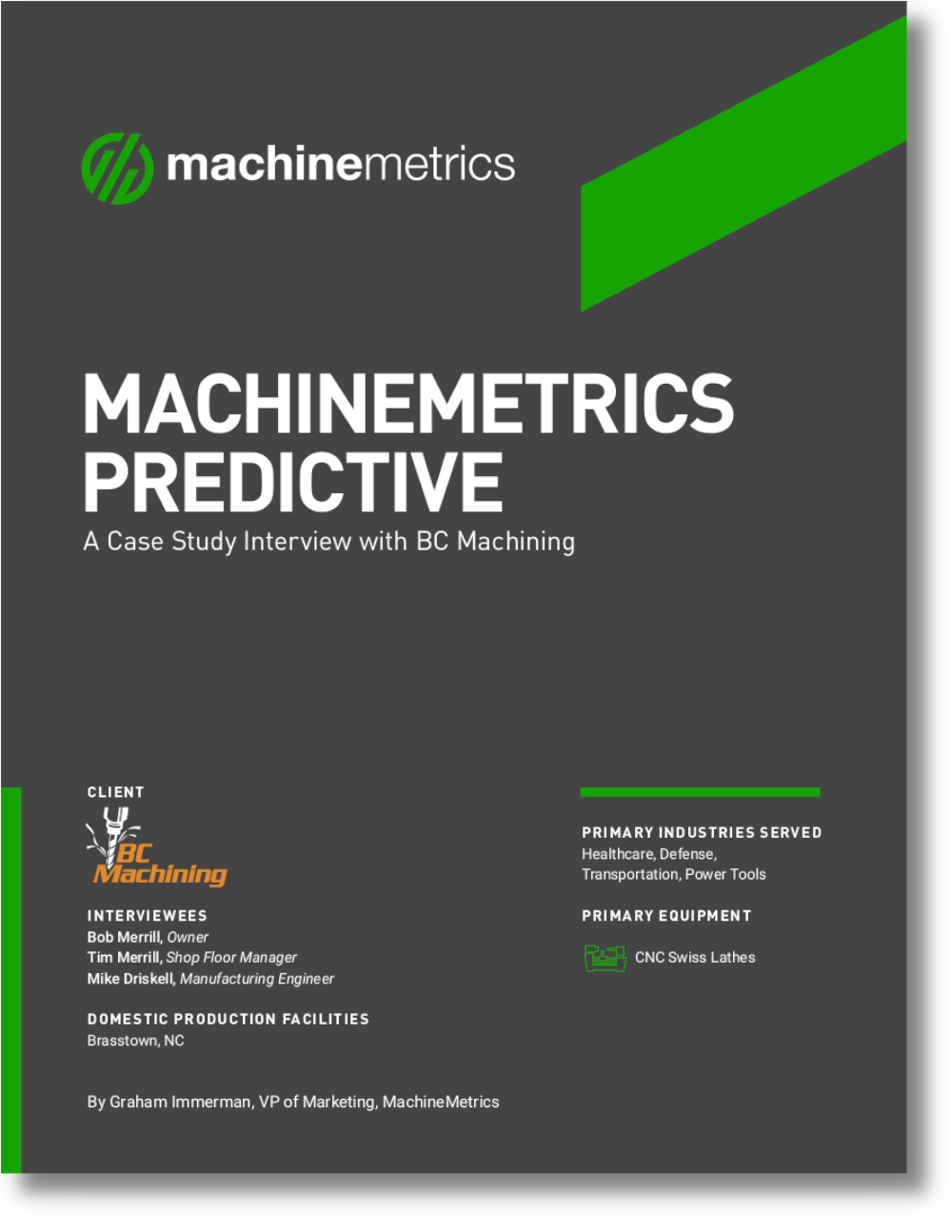 MachineMetrics Predictive Interview Case Study