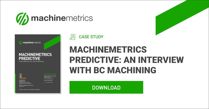 MachineMetrics Predictive Tool Failure Case Study