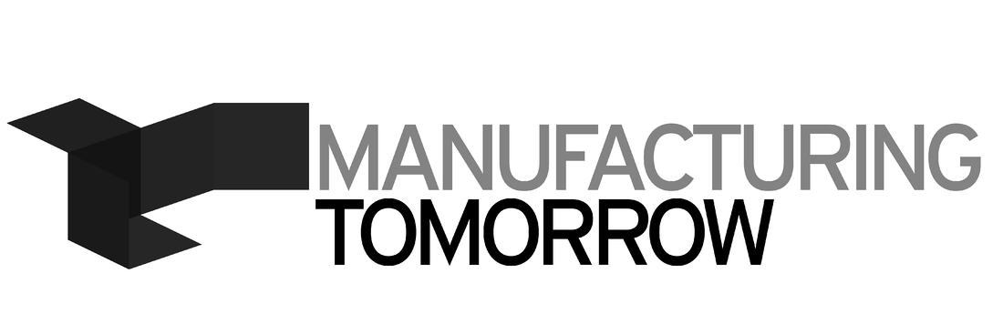 manufacturing Tomorrow logo gray