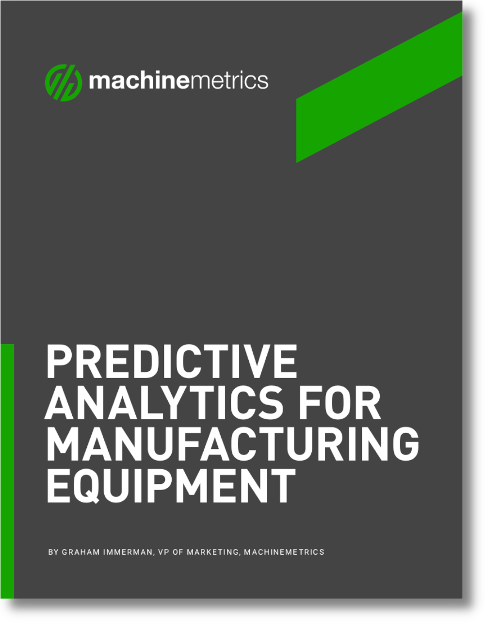 Predictive Analytics for Manufacturing Equipment eBook Cover