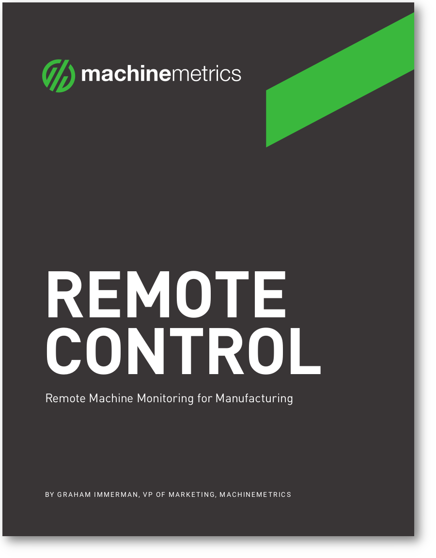 Remote Machine Monitoring for Manufacturing eBook Cover