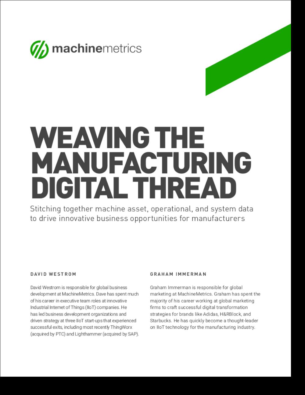 Weaving the Manufacturing Digital Thread