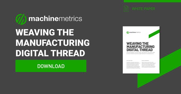 Weaving the Manufacturing Digital Thread eBook.