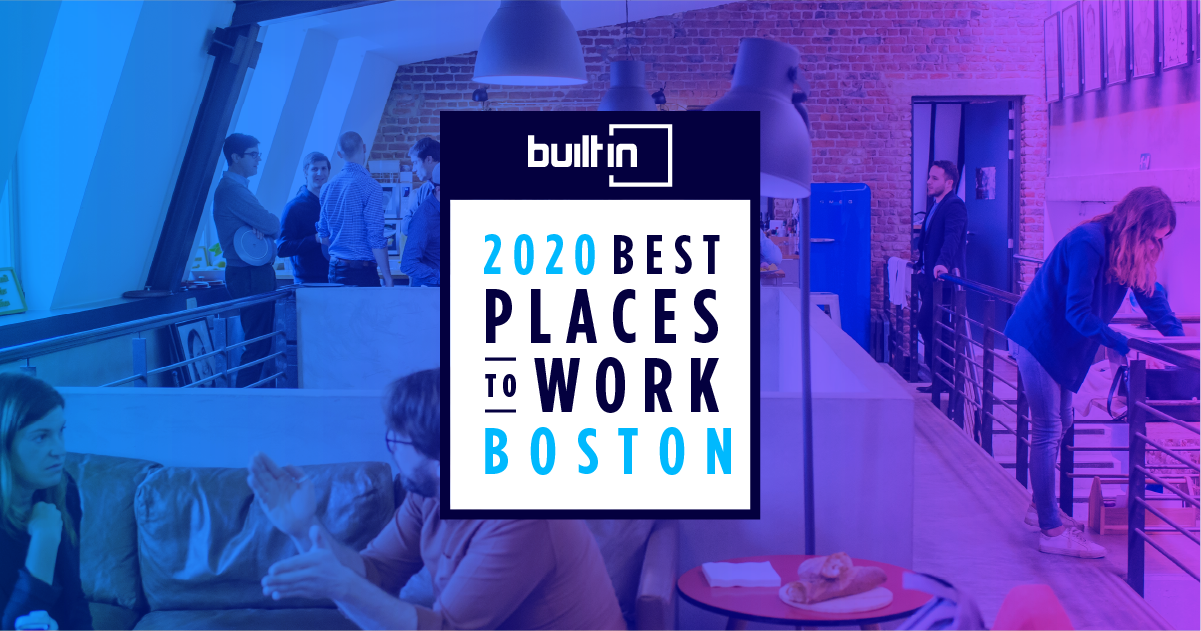 MachineMetrics is Honored in Built In Boston's Prestigious Best Places to Work List in 2020