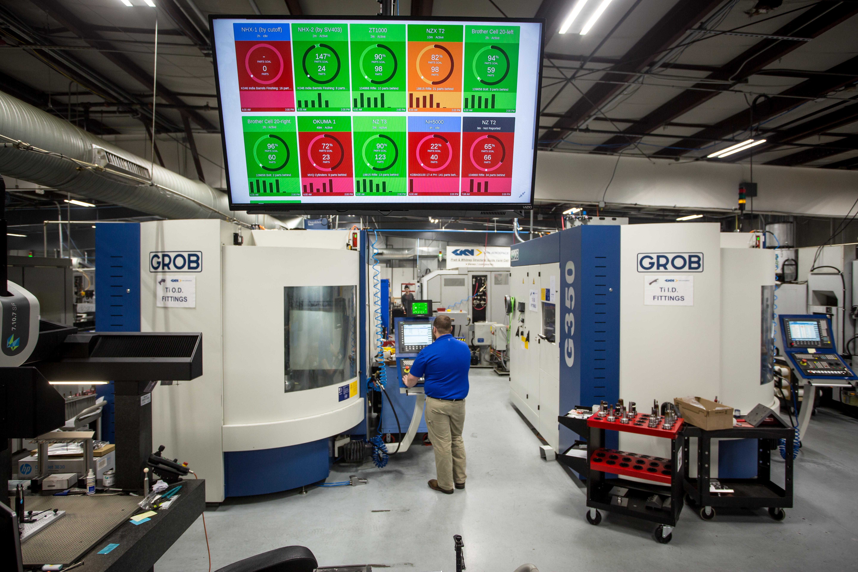 Precision Metalworking CNC Machine Monitoring Software   MachineMetrics