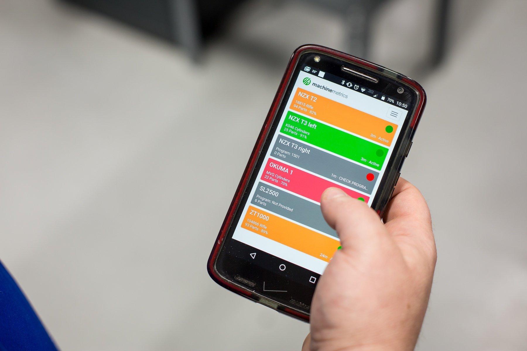 Remote Real-Time Machine Monitoring Software | MachineMetrics