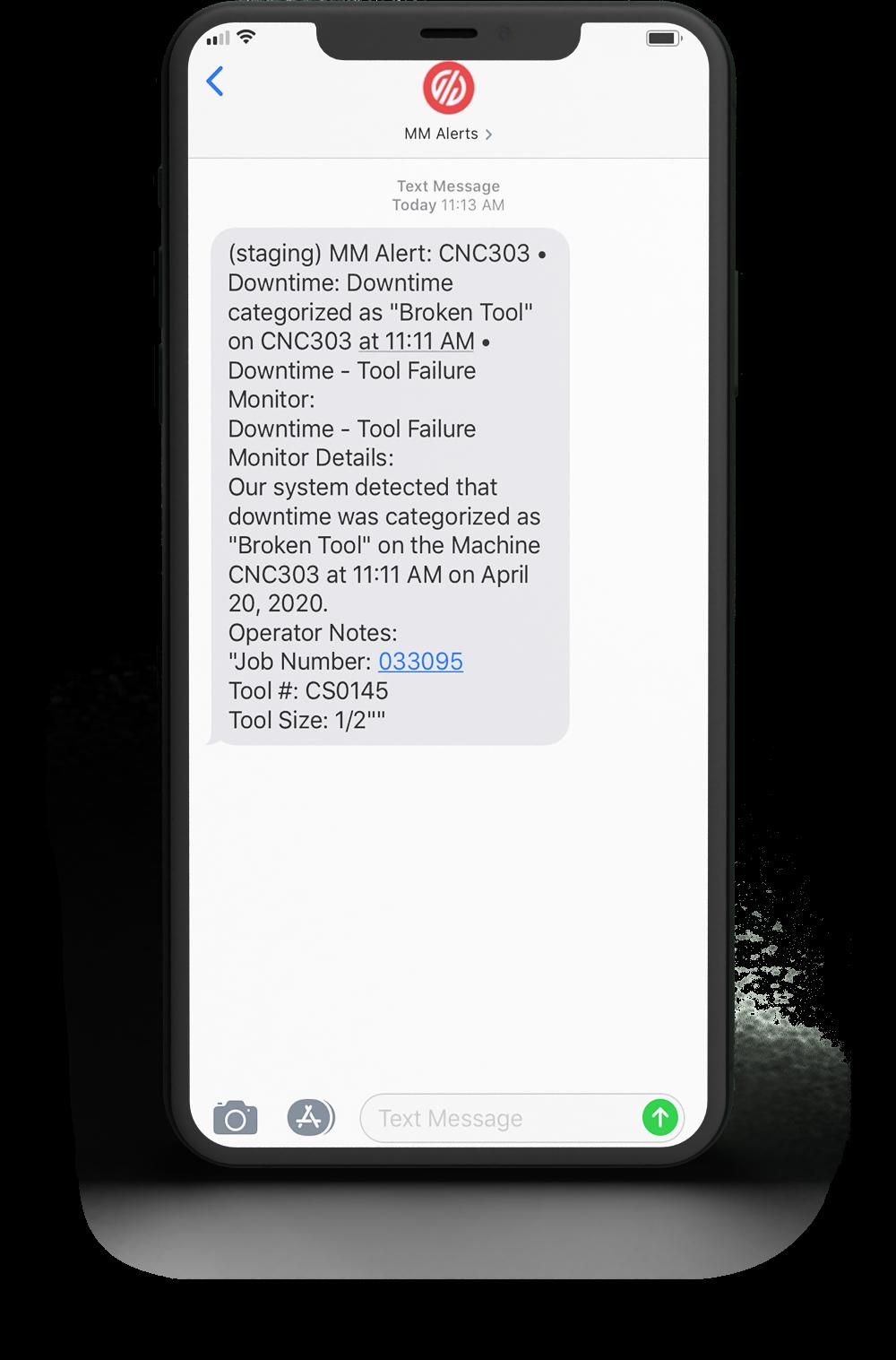 Automatic Alert for Maintenance Request