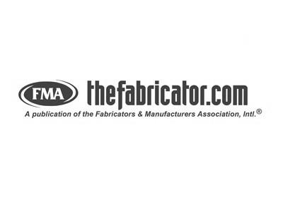 The Fabricator Logo gray
