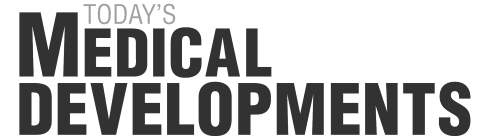 Todays medical developments logo gray