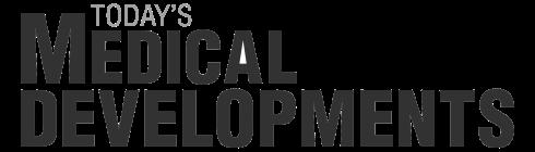Todays medical developments logo gray