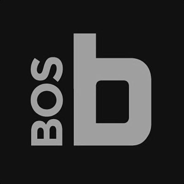 built in boston logo gray