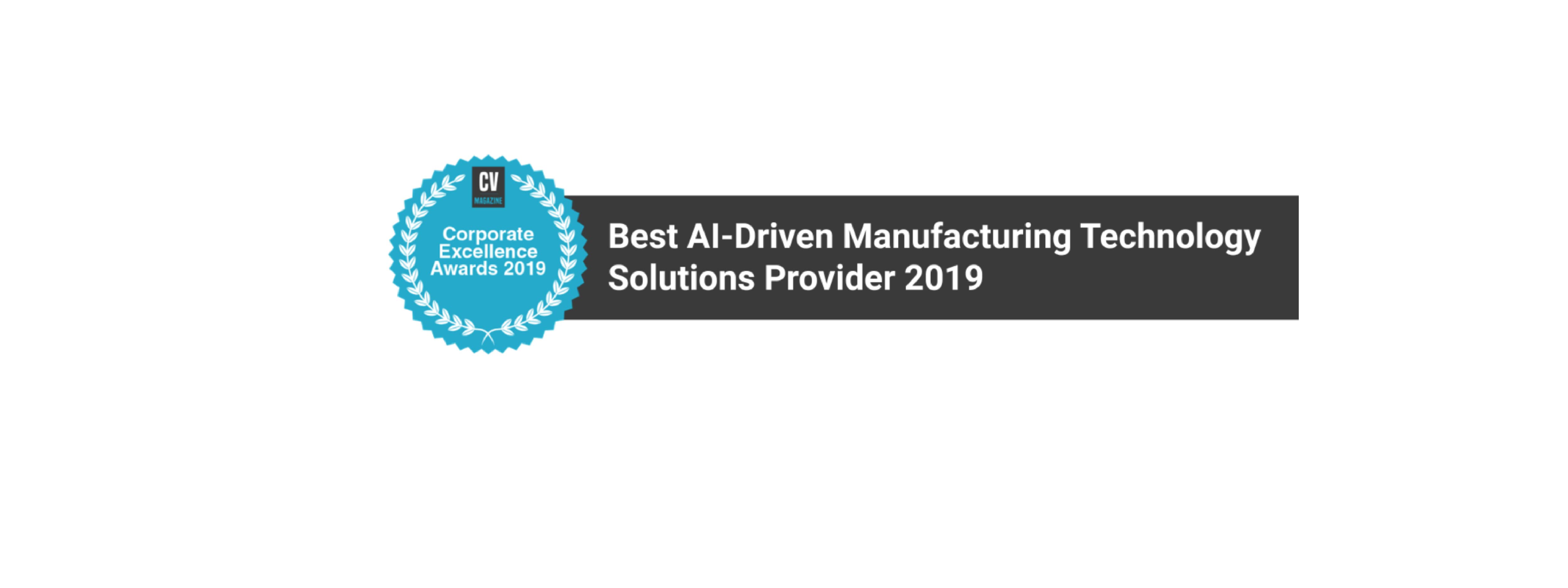 "MachineMetrics Awarded ""Best AI-Driven Manufacturing Technology Solutions Provider"""