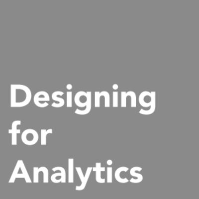 Designing for Analytics Logo