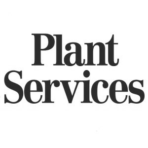 plant services logo gray