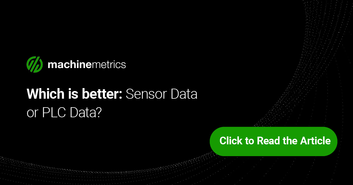 Sensor Data vs PLC Data: Why Getting Deep Data Is the Right Way to Go!